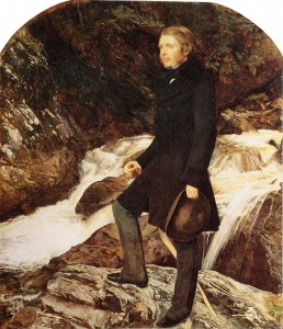Portrait by John Everett Millais, 1853-1854