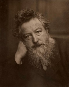 Portrait of William Morris, aged 53