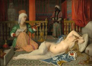 Figure 2. L'Odalisque à l'esclave, 1839 by Jean-Auguste-Dominique Ingres